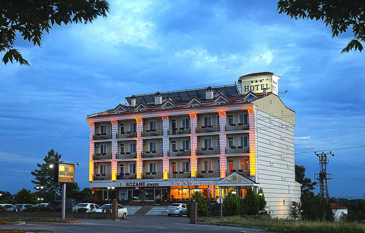 Hotel Şimşek Edirne Night View