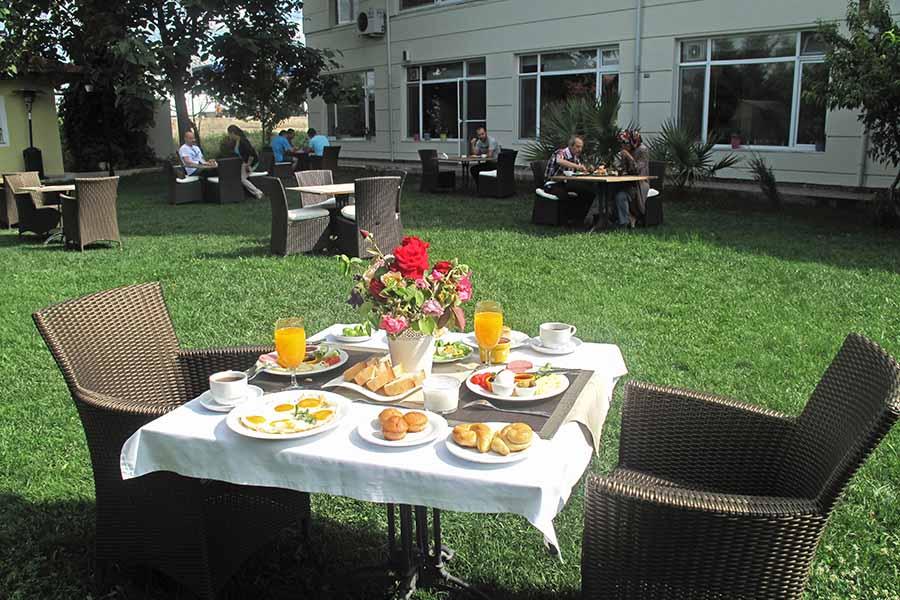 Hotel Şimşek Edirne Restoran Kahvaltı
